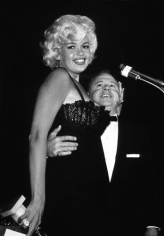 Bernie Abramson, Jayne Mansfield with Mickey Rooney at the Golden Globes, 1958
