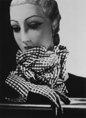 George Hoyningen-Huene, Scarf and Gloves by Chanel, Paris, 1934