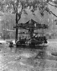 Robert Doisneau, Le Manège de M. Barré (Monsieur Barré's Merry-Go-Round), Paris, France, 1955