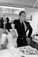 Harry Benson, Oscar de la Renta, 1977