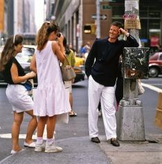 Harry Benson  Calvin Klein, New York, 1989