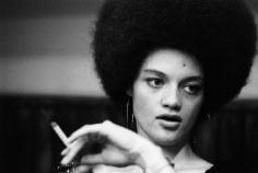 Bruno Barbey, Kathleen, Wife of Eldridge Cleaver, At the Pan-African Festival, Algiers, 1969