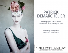 Patrick Demarchelier, Exhibition Invitation