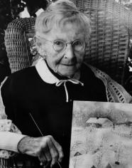 Bert Stern, Grandma Moses (Anna Mary Robertson Moses), 1950s