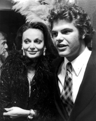 Ron Galella, Diane and Egon von Furstenberg, Blue Angel Nightclub Grand Opening, New York, 1973