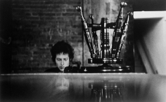 Daniel Kramer, Bob Dylan and Piano Stool, Town Hall, Philadelphia, 1964