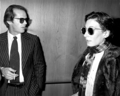 Ron Galella, Jack Nicholson and Angelica Huston, Dorothy Chandler Pavilion, Mabel Mercer Concert, Los Angeles, 1978