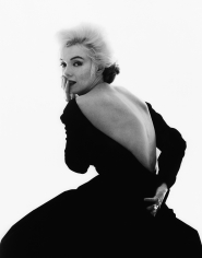 Bert Stern, Marilyn Monroe: From The Last Sitting, 1962 (Black Dress, looking over shoulder)