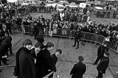 Harry Benson, Beatles Arriving, New York, 1964