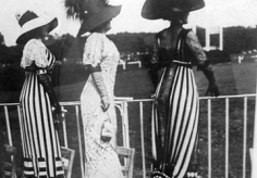 Jacques-Henri Lartigue, Three Women at Races, Auteuil, 1911