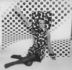 Rico Puhlmann, Op-Art Evening, Brigitte Bauer, 1965