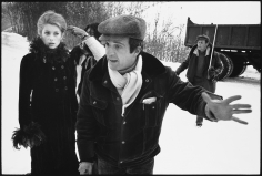 Mary Ellen Mark, Francois Truffaut directing Catherine Deneuve  on the set of Mississippi Mermaid,  Grenoble, France, 1969