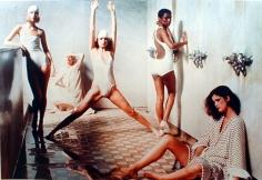 Deborah Turbeville, Bath House, New York, VOGUE, 1975