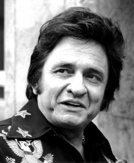 Ron Galella, Johnny Cash, Hollywood Walk of Fame, 1976