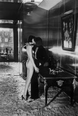 Helmut Newton, Mannequins Quai D'Orsay, Paris, 1977