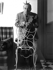 Sanford Roth,  Joan Miro in Paris, circa 1950