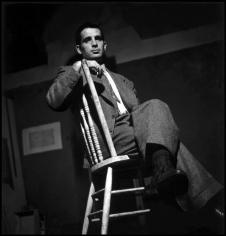 Elliot Erwitt, Jack Kerouac, New York 1953