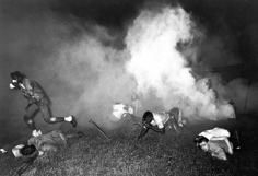 Harry Benson, Tear-gassing at Meredith March, Canton, Mississippi, 1966