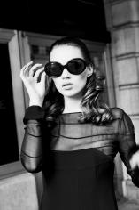 Stephanie Pfriender Stylander, Kate Moss, I Got You, New York, Italian Harper's Bazaar, 1992