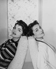 Horst P. Horst, The Bouvier Sisters: Jackie & Lee, New York, 1958