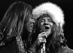 Harry Benson, Tina Turner and Janis Joplin, New York, 1969