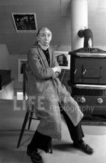 John Loengard, Berenice Abbott, Maine, 1981