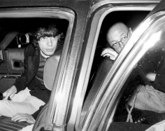 Ron Galella, Mick Jagger and Ahmet Ertegun, Third Annual After Dark Ruby Awards, Casino Russe, New York, 1973