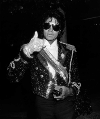 Ron Galella, Michael Jackson, 26th Annual Grammy Awards After Party, L'Ermitage Hotel, Beverly Hills, 1984