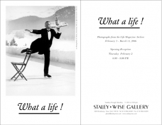 What a life! Exhibition Invitation