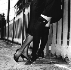 Helmut Newton, Rich Girls, Bordighera, Italy, 1982