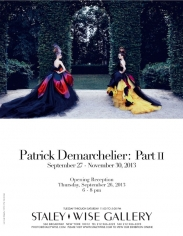 Patrick Demarchelier, Exhibition Invitation