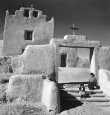 Andre De Dienes, Church at Laguna, New Mexico