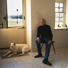Harry Benson, Andrew Wyeth, 1996