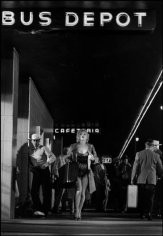 """Dennis Stock, Marilyn Monroe While Filming """"Arret d' Autobus,"""" 1956"""