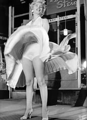 Bruno Bernard, Marilyn Monroe on the set of The Seven Year itch, 1954