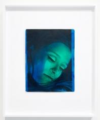 Kali, Beauty Head, Blue/Green, Palm Springs, CA, 1968