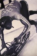 Shelia Metzner, Olympic Sledder,  From Life, 2002