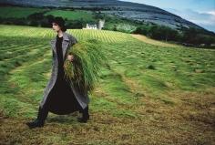 Arthur Elgort, Nadja Auermann in Ireland, VOGUE, 1993