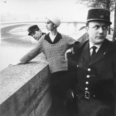 Rico Puhlmann, Along Seine Embankment, Paris, 1963