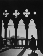 Andre de Dienes, Early Morning at the Ducal Palace, Venice, Italy 1936-37