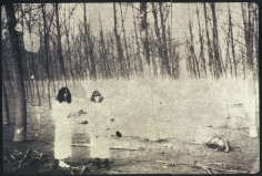 Deborah Turbeville, Women In The Woods: Isabella and Ella in Blumarine, VOGUE Italia, Montova, Italy, 1977