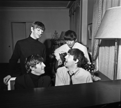 Harry Benson, The Beatles Composing, Paris, 1964