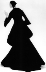 Lillian Bassman, Charles James Dress: Carmen, New York. Harper's Bazaar, 1960
