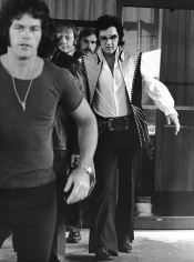 Ron Galella, Elvis Presley at the Hilton Hotel in Philadelphia, 1974