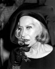 Ron Galella, Gloria Swanson, Copacabana, New York, 1977