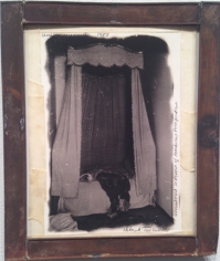 "Deborah Turbeville, Unrestored Bedroom of Madame de Pompadour, from ""Unseen Versailles"", 1980"