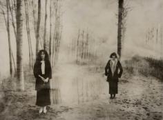 Deborah Turbeville,  L'Heure Entre Chien et Loup: Blumarine, VOGUE Italia, Montova, Italy, 1977