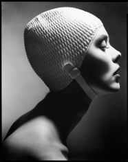 Len Prince, Swimming Cap Profile, New York, 1991