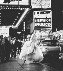 Rico Puhlmann, Marie-Luise Steinbauer, Times Square, New York, 1960