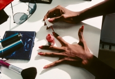 Harry Benson Iman's Hands, New York, 1982